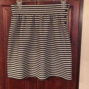 Joe Fresh B/W skirt